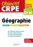 Laurent Bonnet - Objectif CRPE Géographie 2019.