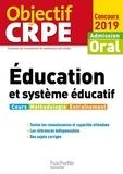 Serge Herreman et Patrick Ghrenassia - Objectif CRPE Éducation et système éducatif 2019.