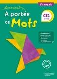 Philippe Bourgouint - Français CE1 Le Nouvel A portée de mots - Livre de l'élève.