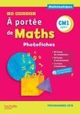 Jean-Claude Lucas et Janine Lucas - Mathématiques CM1 cycle 3 Le nouvel A portée de Maths - Photofiches. 1 Cédérom