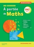 Janine Lucas et Jean-Claude Lucas - Mathématiques CM2 cycle 3 Le nouvel A portée de Maths.