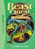 Adam Blade - Beast Quest - Le royaume de Tavania Tome 41 : Le lézard du désert.