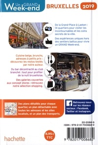 Un grand week-end à Bruxelles  Edition 2019 -  avec 1 Plan détachable