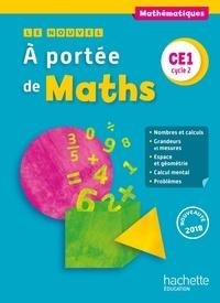 Janine Lucas et Jean-Claude Lucas - Mathématiques CE1 cycle 2 Le Nouvel A portée de maths.