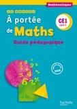 Janine Lucas et Jean-Claude Lucas - Mathématiques CE1 cycle 2 Le nouvel A portée de maths - Guide pédagogique.