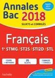 Franck Mazzucchelli - Francais 1res STMG/ST2S/STI2D/STL - Sujets et corrigés.