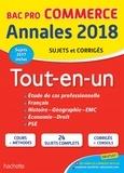 Sylvette Rodriguès et Rémy Colin - Tout-en-un Bac Pro Commerce - Sujets et corrigés.