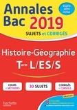 Florence Nielly et Catherine Guillerit - Annales BAC Histoire-Géographie Tles L, ES, S.