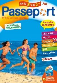 Christophe Douay et Louise Cazenave-Oaten - Passeport Toutes les matières de la 3e à la 2de.