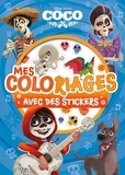Disney - Mes coloriages avec stickers Coco.