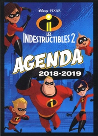 Disney Pixar - Les Indestructibles 2 Agenda.