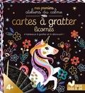 Cinzia Sileo - Cartes à gratter licornes - 4 tableaux à gratter à découvrir !.