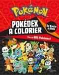 Hachette Jeunesse - Pokedex à colorier - Plus de 800 Pokémon !.