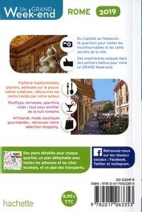 Un grand week-end à Rome  Edition 2019 -  avec 1 Plan détachable