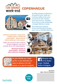 Un grand week-end à Copenhague  avec 1 Plan détachable