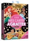 Disney - Mes cartes à gratter dorées disney Princesses - Les ateliers.