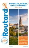 Le Routard - Bordelais, Landes, Lot-et-Garonne - Nouvelle-Aquitaine. 1 Plan détachable