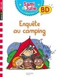 Thérèse Bonté - Sami et Julie, j'adore lire ! BD  : Enquête au camping.