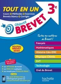Philippe Rousseau et Sébastien Dessaint - Objectif Brevet 3e - Tout en un.