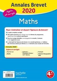 Maths 3e. Sujets et corrigés  Edition 2020