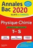Frédérique de La Baume-Elfassi - Physique-Chimie Term S Obligatoire + Spécialité.
