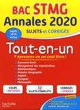 Jean-Pierre Broutin et Jean-Bernard Ducrou - Annales Tout-en-un Bac STMG - Sujets et corrigés.