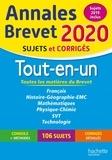 Sébastien Dessaint et Malorie Gorillot - Tout-en-un Brevet - Sujets et corrigés.