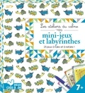 Mickael Brana et Emilie Lapeyre - Mini-jeux et labyrinthes - 26 jeux à faire et à refaire ! Avec 1 stylo effaçable.