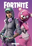 Epic Games - Carnet officiel rose Fortnite.