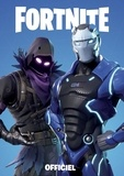 Epic Games - Carnet officiel bleu Fortnite.