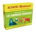 Chiara Piroddi et Agnese Baruzzi - Découvre et nomme les animaux sauvages - Avec le livret des parents.