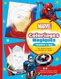 Marvel - Marvel - Coloriages Magiques - Trompe l'oeil.