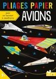 Deux Coqs d'or - Pliages papier Avions - Avec 20 feuilles, 1 livret et 1 lanceur à construire.
