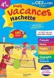 Philippe Simon et Ann Rocard - Mes vacances Hachette du CE2 au CM1.