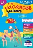 Philippe Simon et Ann Rocard - Mes vacances Hachette du CM2 à la 6e.