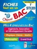 Fethi Benguella et Isabelle Lisle - Objectif BAC Fiches  Tout-en-un Term STI2D  - Nouveaux programmes.