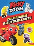 Hasbro - Coloriages & autocollants Ricky Zoom.