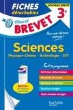 Sébastien Dessaint et Malorie Gorillot - Fiches détachables Sciences 3e - Physique-chimie, technologie, SVT.