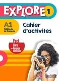 Fabienne Gallon et Céline Himber - EXPLORE 1 Pack Cahier d'activités + Version numérique.