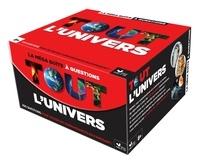 Hachette - La méga boîte à questions, tout l'univers - Avec 102 cartes, 1 livret, 1 buzzer.