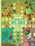 Anna Lang - Le grand livre des jeux au pays des contes - Livre avec plateaux et pions.