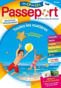 Philippe Bourgouint et Nicole Presse - Passeport Toutes les matières du CP au CE1 - Avec autocollants récompenses.