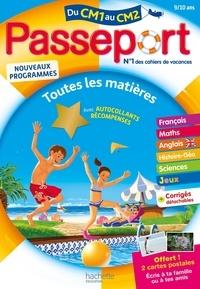 Claire Barthomeuf et Jacques Chanteux - Passeport Toutes les matières du CM1 au CM2.