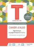 Eric Barbazo - Algorithmique et programmation en Python Tle spécialité Barbazo - Cahier d'Algo. Avec 1 mémento détachable.
