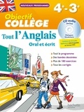 Daniel Guimberteau - Tout l'anglais 4e-3e - Oral et écrit. 1 CD audio