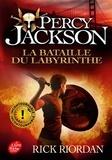 Rick Riordan - Percy Jackson Tome 4 : La bataille du labyrinthe.