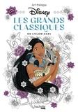 Disney et Aurélia-Stéphanie Bertrand - Les Grands Classiques Disney - 60 coloriages.