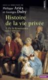 Philippe Ariès et Georges Duby - .