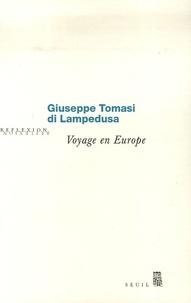 Giuseppe Tomasi di Lampedusa - Voyage en Europe.