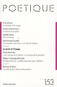 Guy Larroux et Laurent Zimmermann - Poétique N° 153 : .